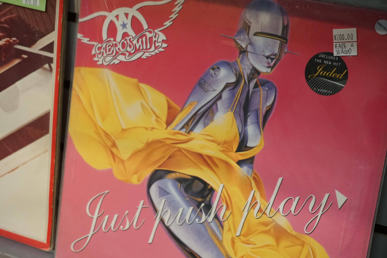 """Just Push Play"" - Aerosmith"
